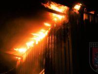 Feuer Werkhalle