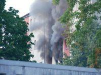Wohnungsbrand - 13 Verletzte