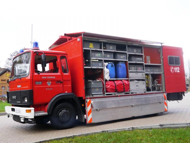 Florian Celle 10/73/1 – Gerätewagen Chemie- und Strahlenschutz
