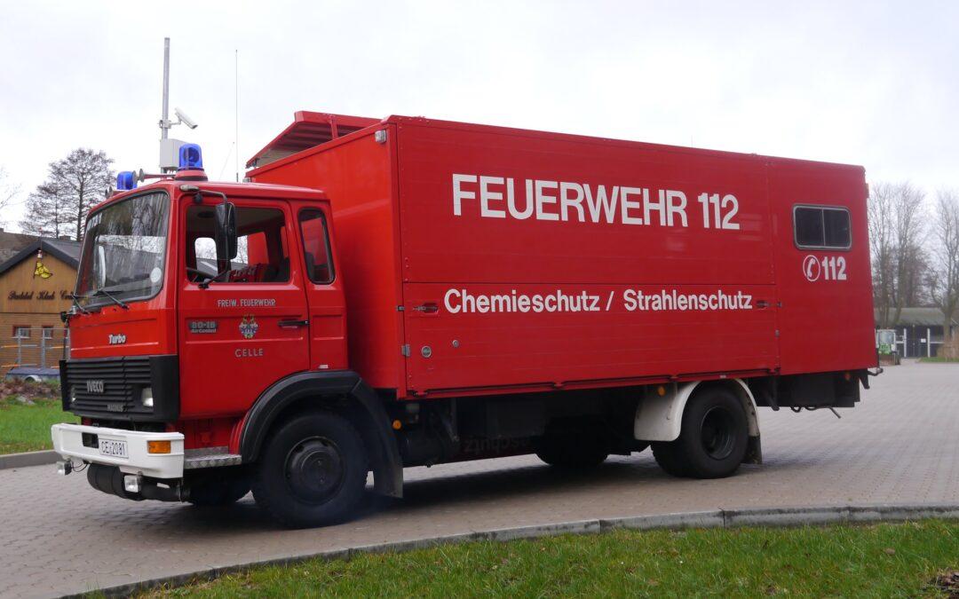 Gerätewagen Chemie- und Strahlenschutz – Ein Vorreiter geht in den Ruhestand!