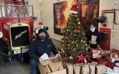 Weihnachtsüberraschung bei der Jugendfeuerwehr Celle-Hauptwache