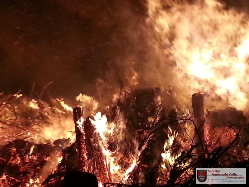 Erhöhte Gefahr von Wald- und Flächenbränden