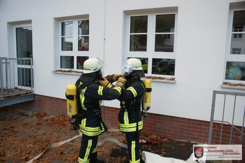 Feuer in Schule
