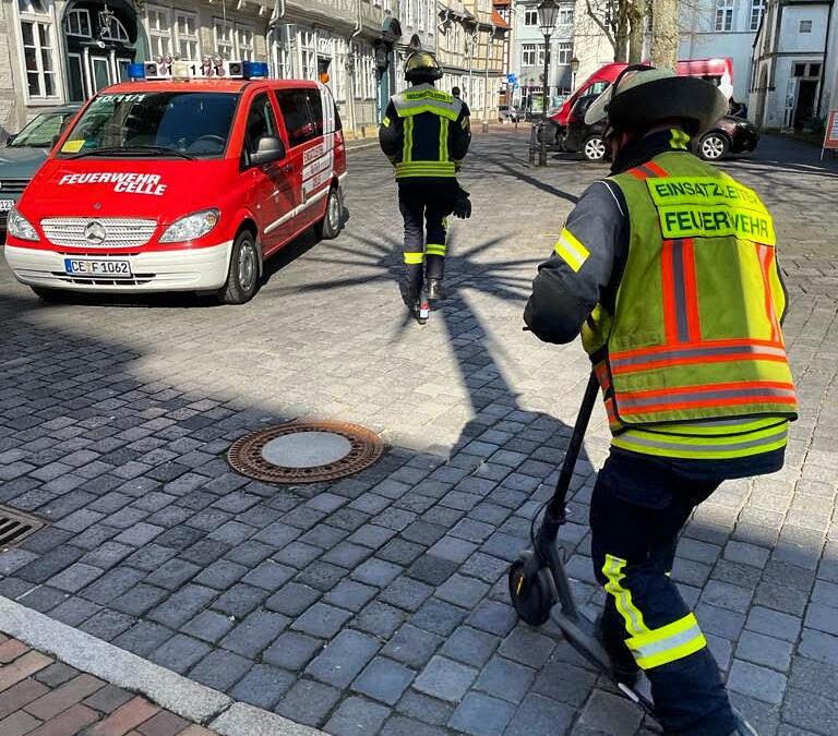 E-Scooter für den Brandmeister vom Dienst