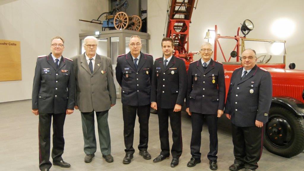 Ehrungen bei der Freiwilligen Feuerwehr Celle-Hauptwache