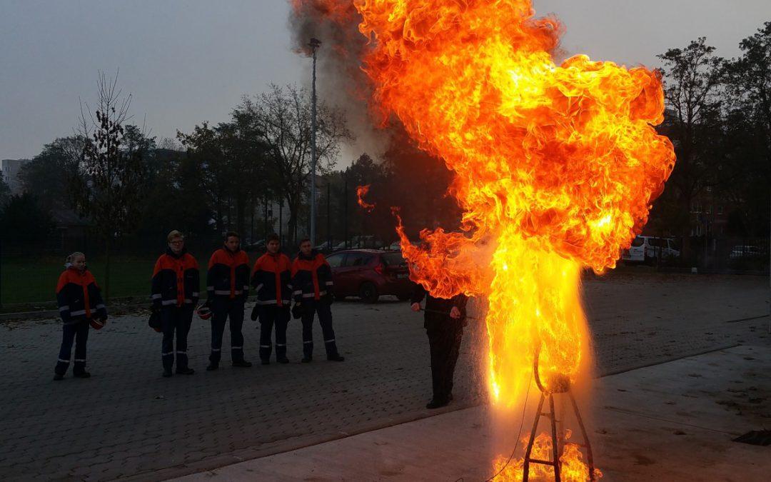 Brandschutzerziehung bei der Feuerwehr