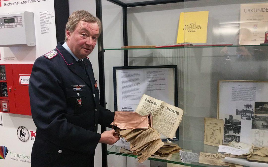 Historische Funde unter der alten Feuerwehrhauptwache
