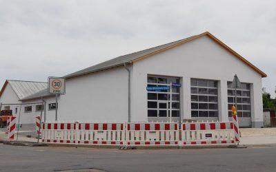 Neubau Feuerwehrhaus Scheuen