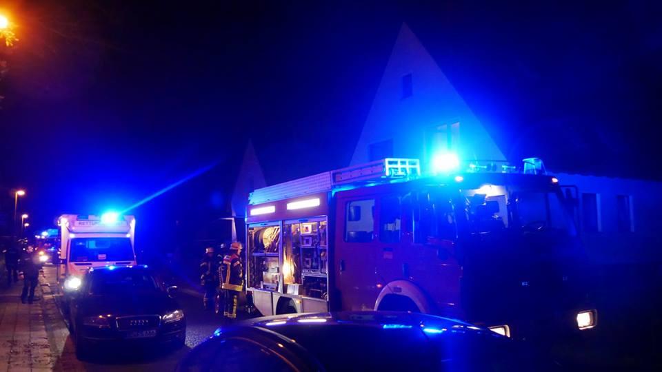 Brennt Tannenbaum 1 Verletzte
