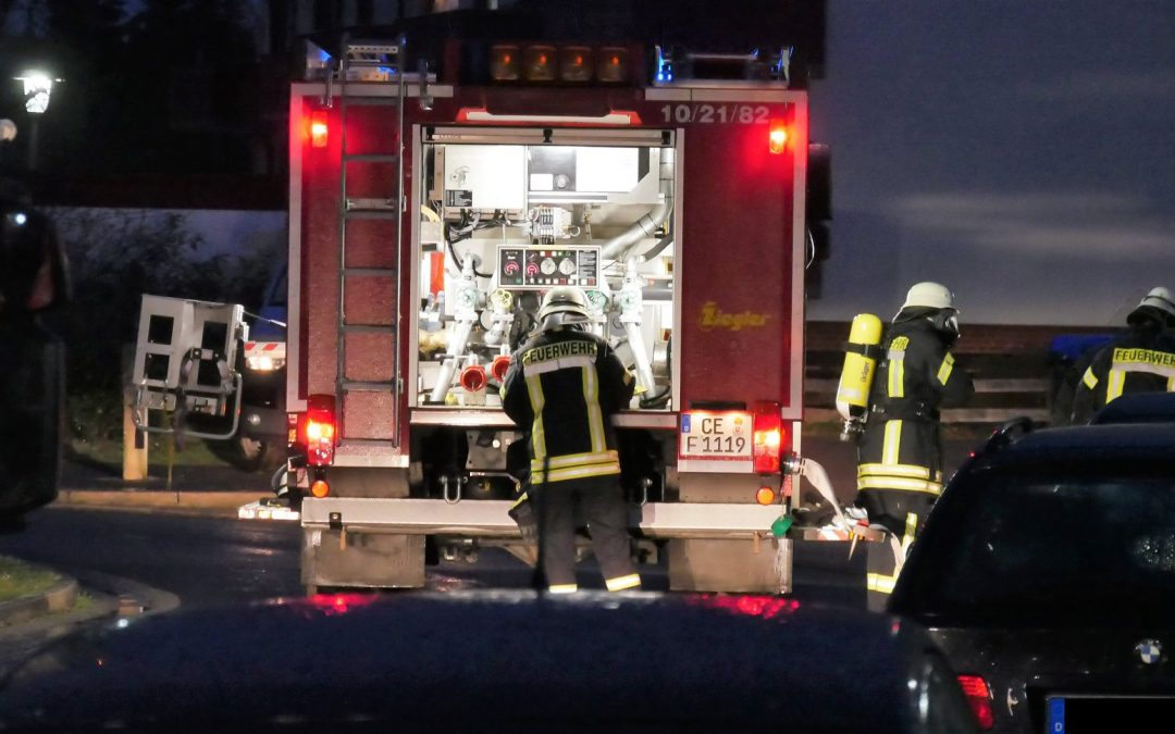 Feuer in Küche – 1 Person gerettet