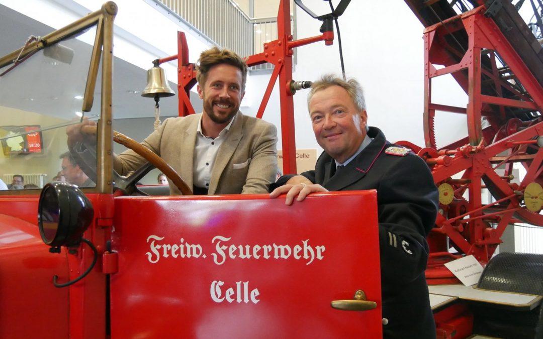 IHK Lüneburg-Wolfsburg zu Gast bei der Celler Feuerwehr!