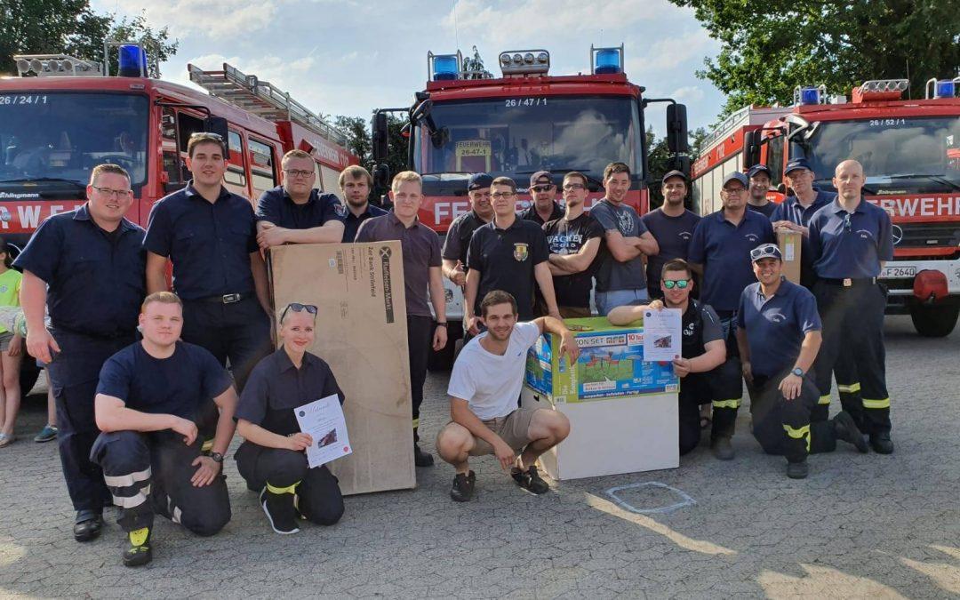 Geburtstags-Rallye der Freiwillige Feuerwehr Winsen/Aller