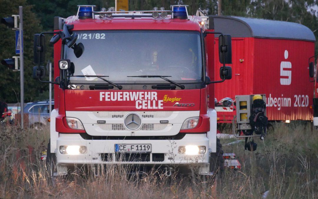 Einsatzübung – Verletzte und Gebäudebrand nach Gasexplosion