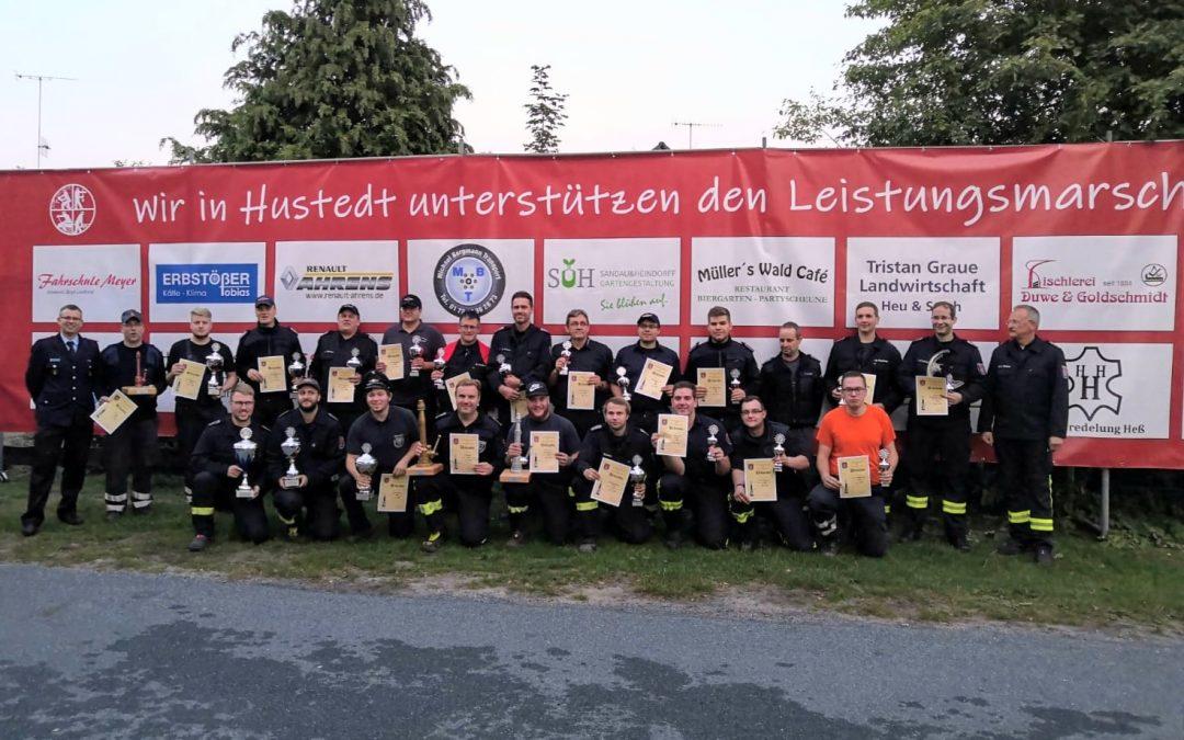 Leistungsmarsch in Hustedt