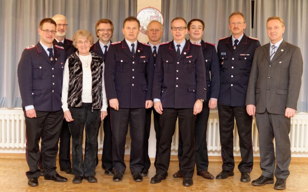 """Ortsfeuerwehr Bostel: 80 Jährige """"alte Dame"""" gesund und fit"""