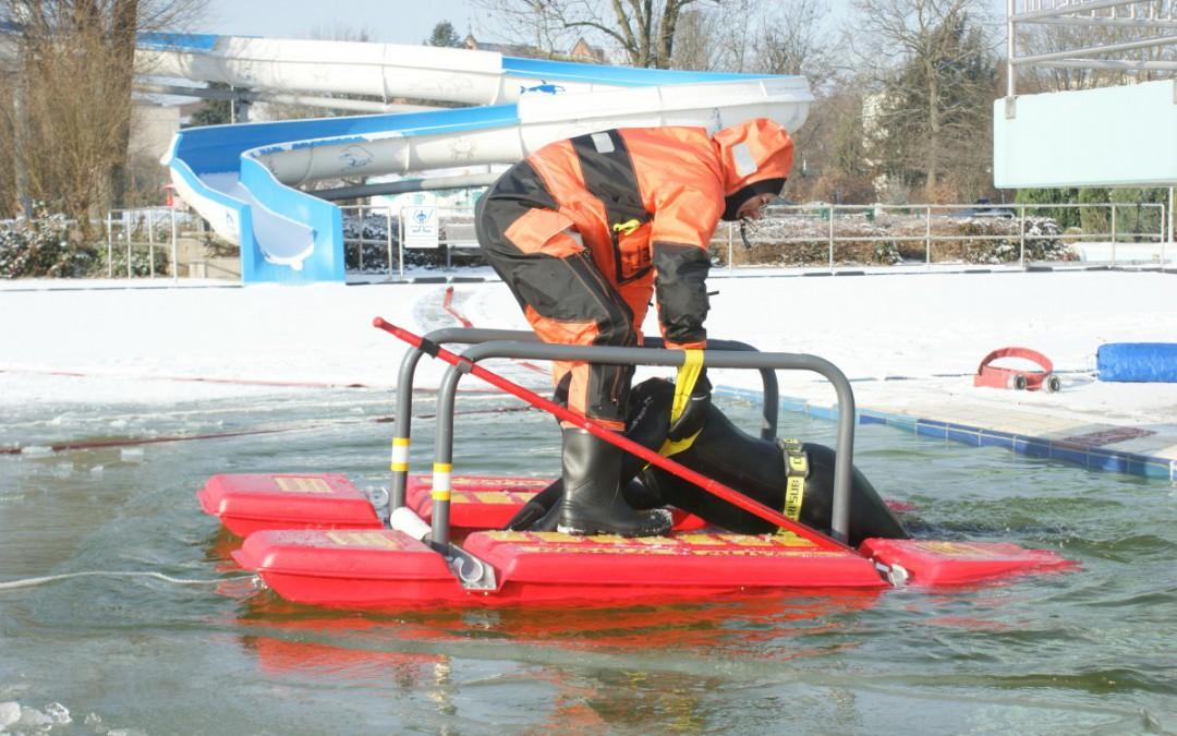 Gefahr durch zugefrorene Gewässer