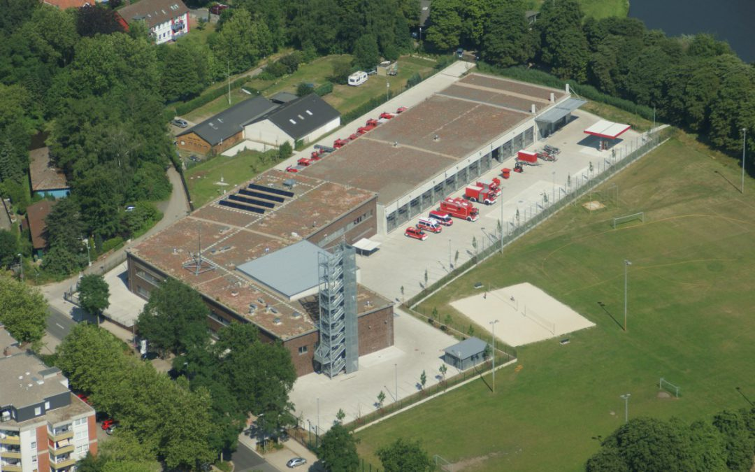 Fünf Jahre Feuerwehrhaus Hauptwache im Herzog-Ernst-Ring