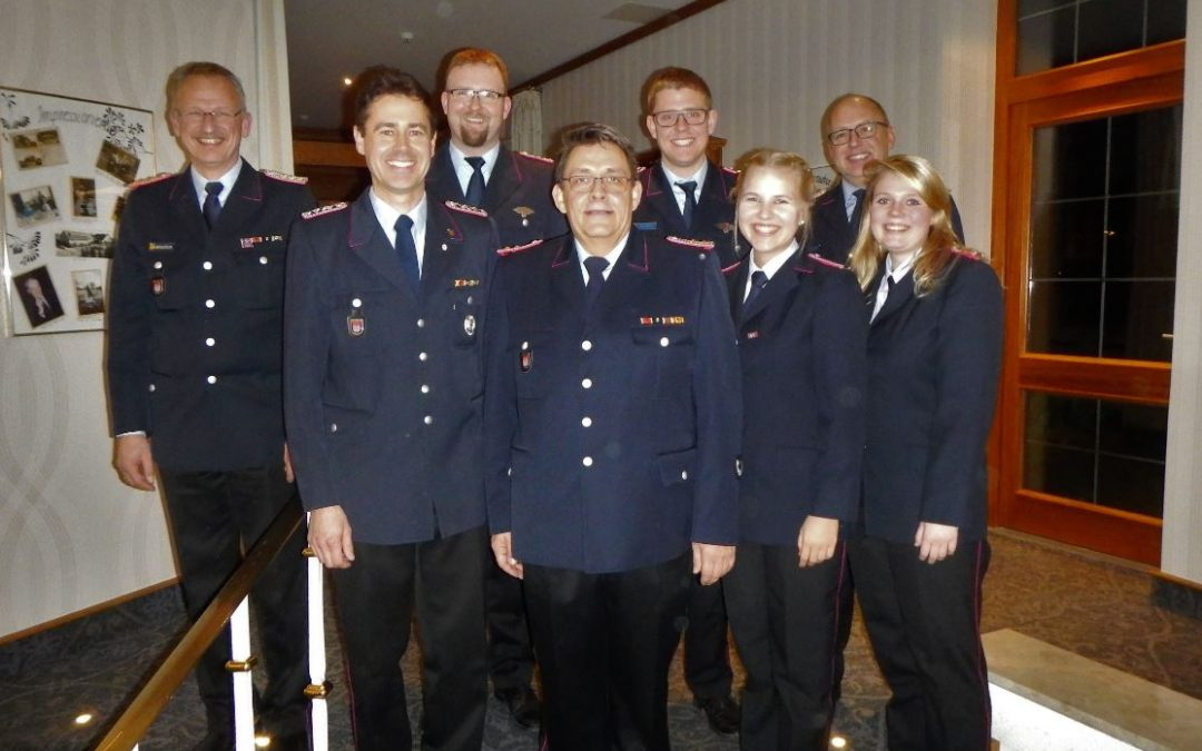 Jahreshauptversammlung der Feuerwehr Groß Hehlen