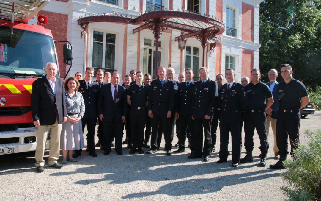 Celler Feuerwehr zu Gast bei der Pariser Feuerwehr