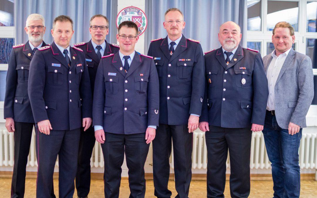 Mitgliederversammlung der Ortsfeuerwehr Bostel