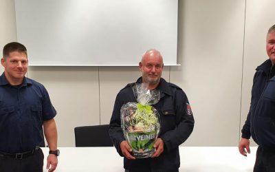 Ralf Ramachers 40 Jahre in der Feuerwehr