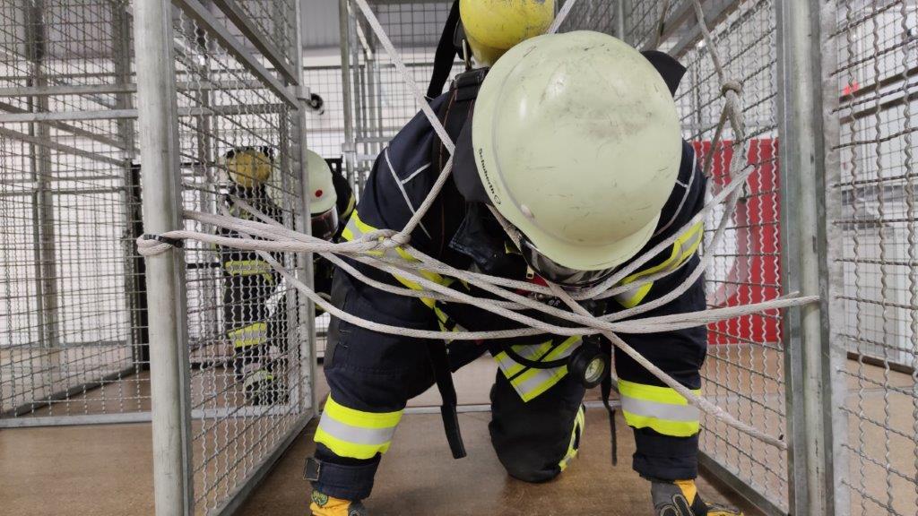 Belastungsübung für Atemschutzgeräteträger – Ausbildung unter Corona!