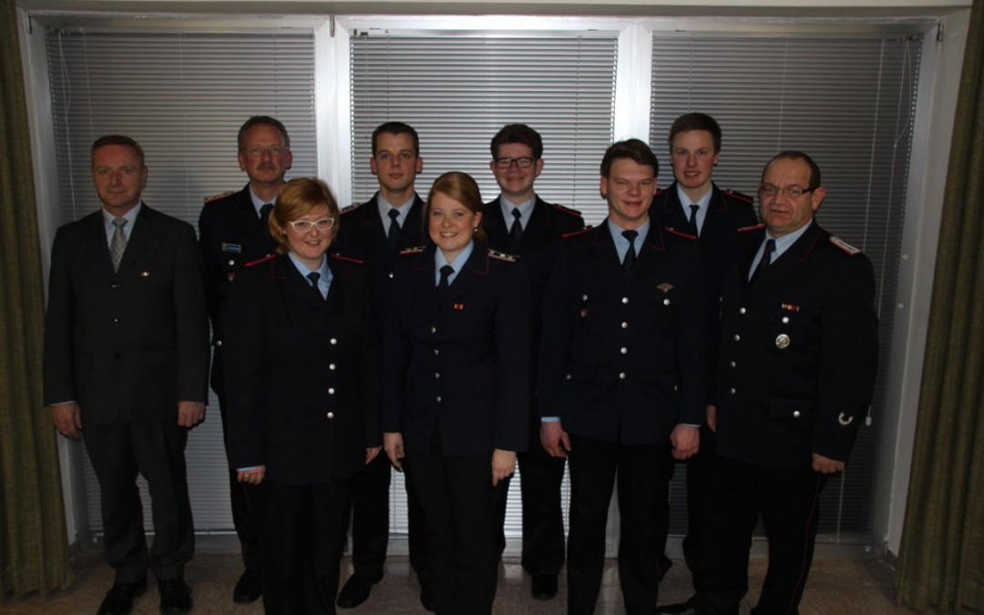Jahreshauptversammlung der Freiwilligen Feuerwehr Altenhagen