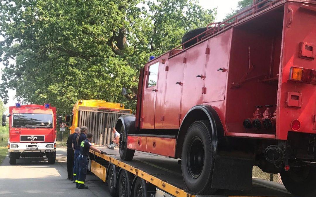 Feuerwehr-Oldtimer kehren zurück in die Heimat