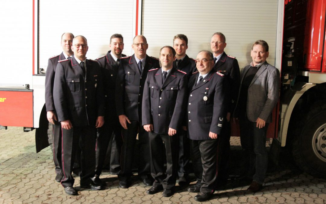 Jahreshauptversammlung der Ortsfeuerwehr Westercelle