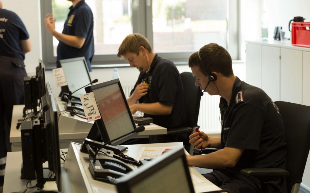 24-Stunden-Übung – Führungseinheiten aus der Region Hannover und Celle üben gemeinsam