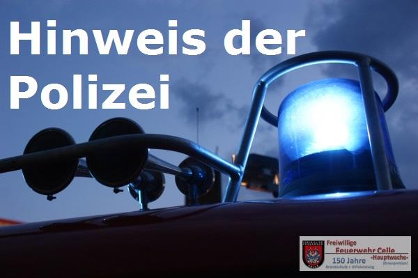 Einschleichdiebe – Wichtige Information der Polizei!
