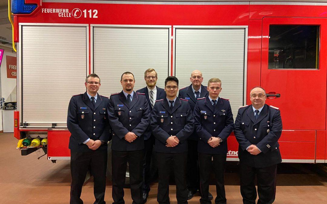 Mitgliederversammlung der Ortsfeuerwehr Hustedt