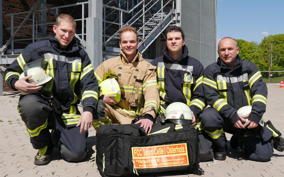 Celler Team bei der 4.Mosel Firefighter Challenge