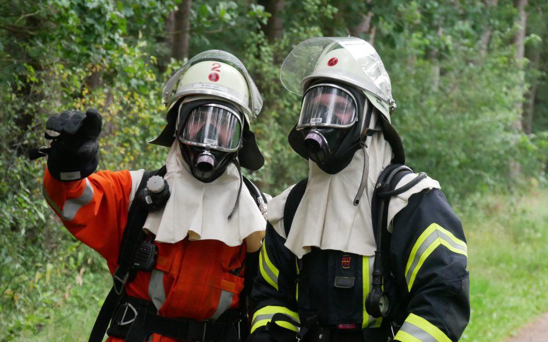 Übung mit Schwerpunkt Strahlenschutz