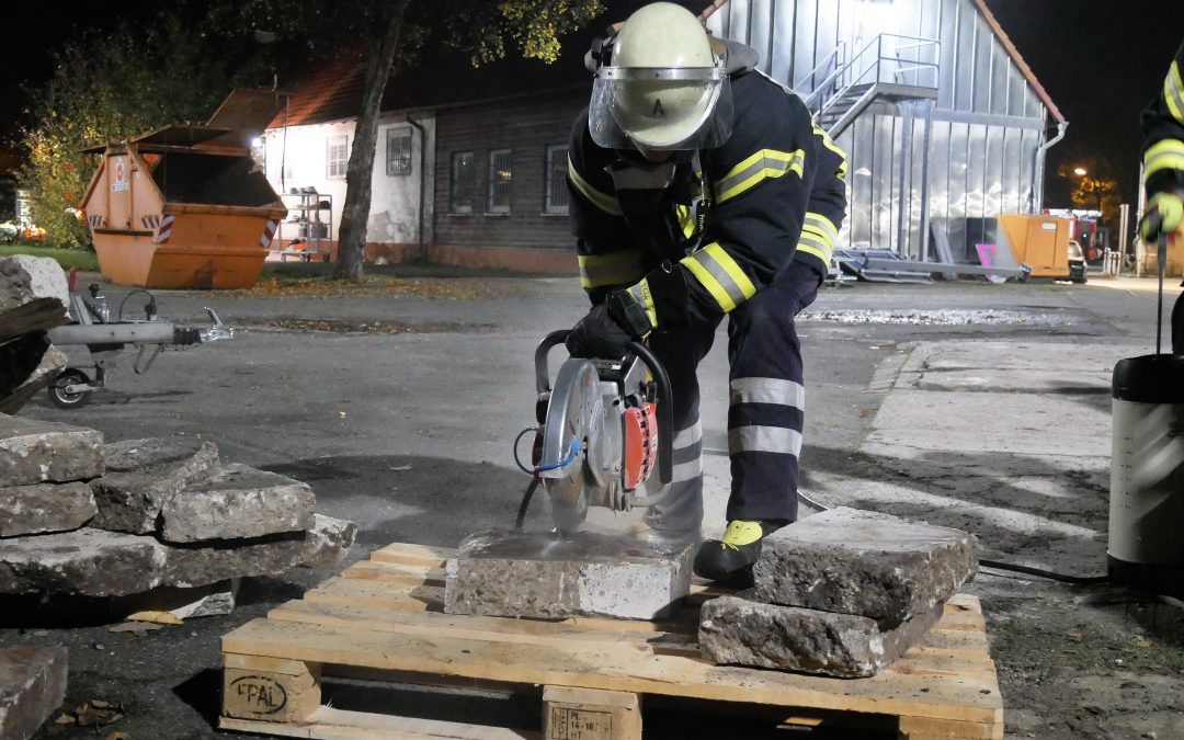 Ausbildung bei der Feuerwehr Celle