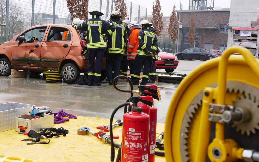 Ausbildung mit dem Schwerpunkt Rettung bei Verkehrsunfällen!
