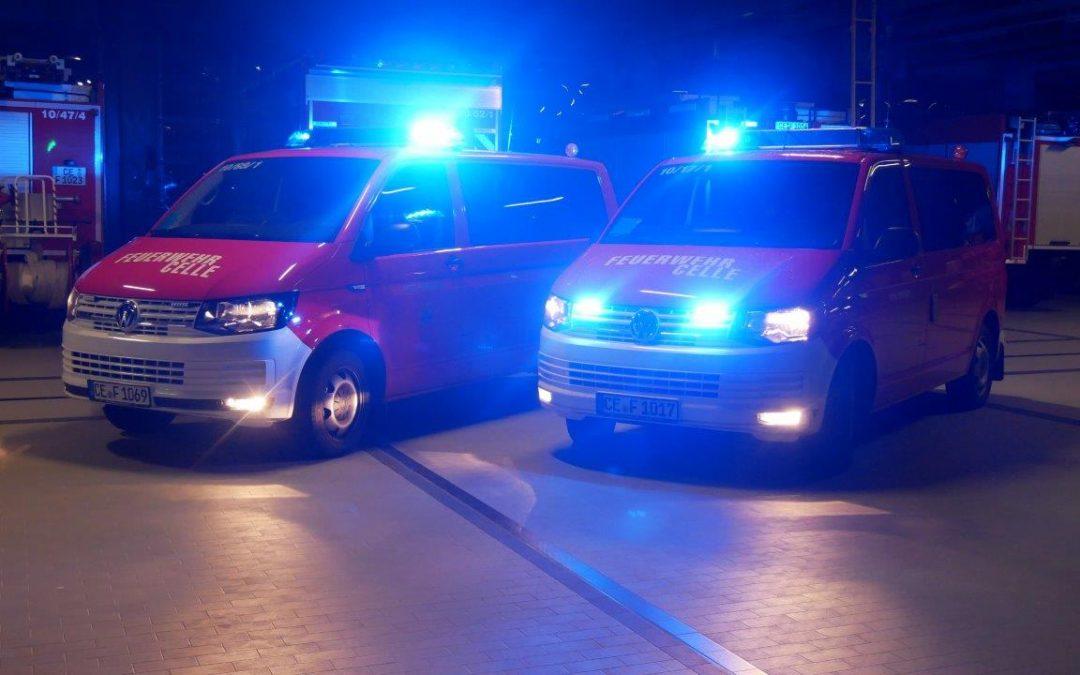 Zwei neue Fahrzeuge für die Celler Feuerwehr