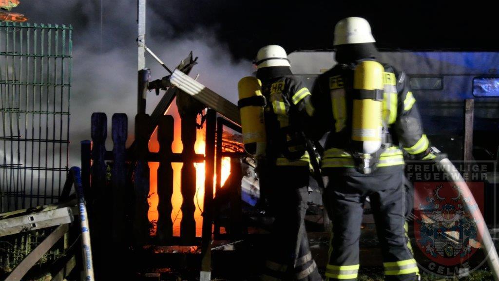 Wohnwagenbrand