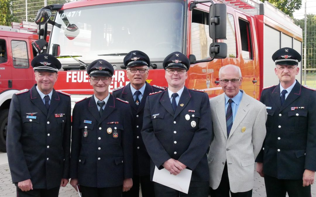 Ehrung bei der Freiwilligen Feuerwehr Celle-Hauptwache