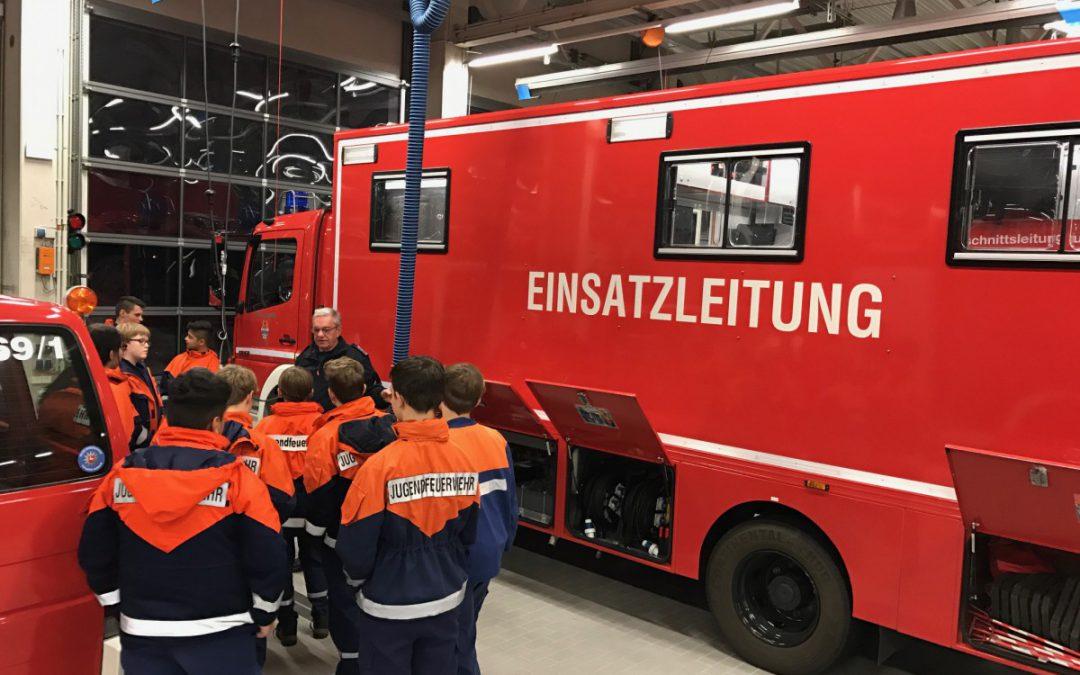 Jugendeuerwehr Altenhagen besucht FüGrEl