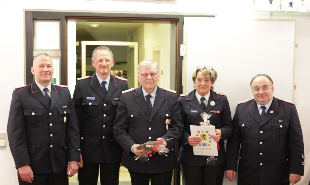 Jahreshauptversammlung der Feuerwehr Westercelle