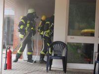 Feuer in Wohn- und Pflegeheim