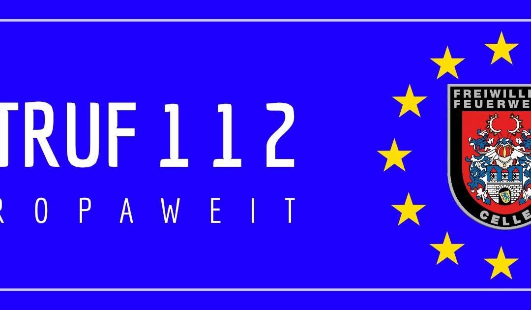 NOTRUF 112 – Europäischer Lebensretter wird 30