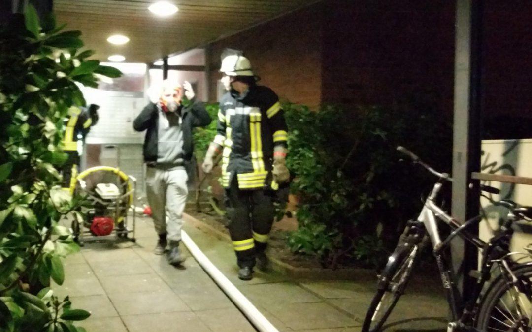 Brennt Fahrstuhl im 6 Obergeschoss *Video hinzugefügt*