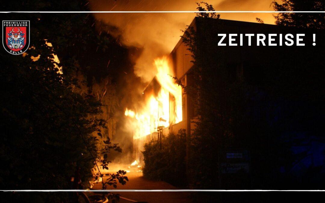 Zeitreise! Großfeuer in der Burgstraße vor fünf Jahren!