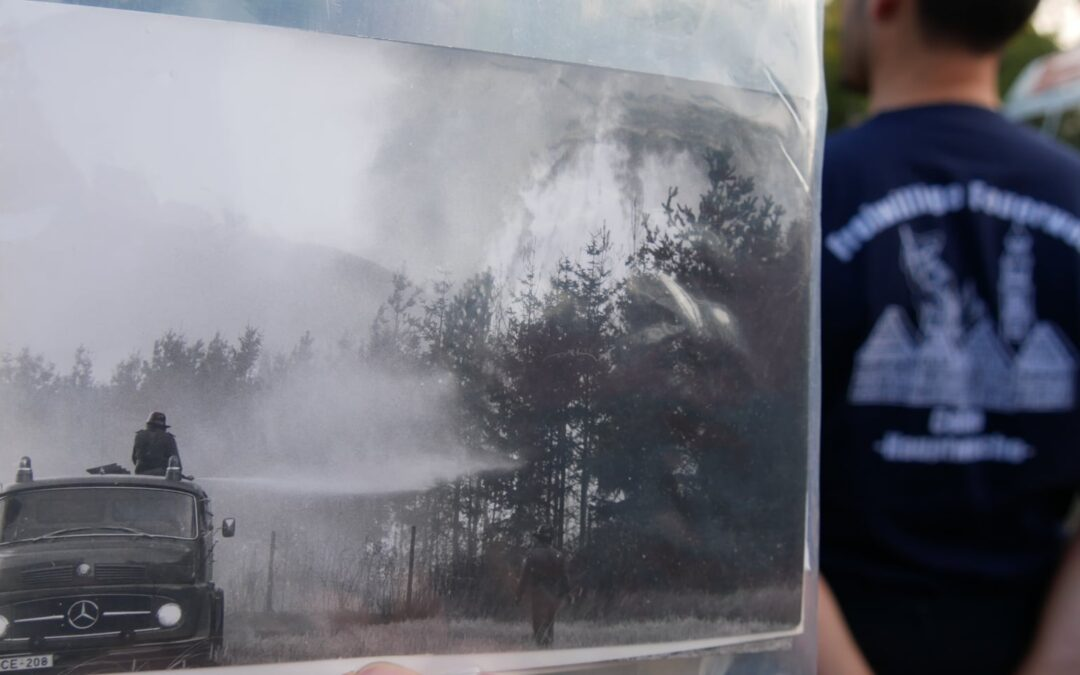 Waldbrandkatastrophe 1975 – Vegetationbrandbekämpfung heute