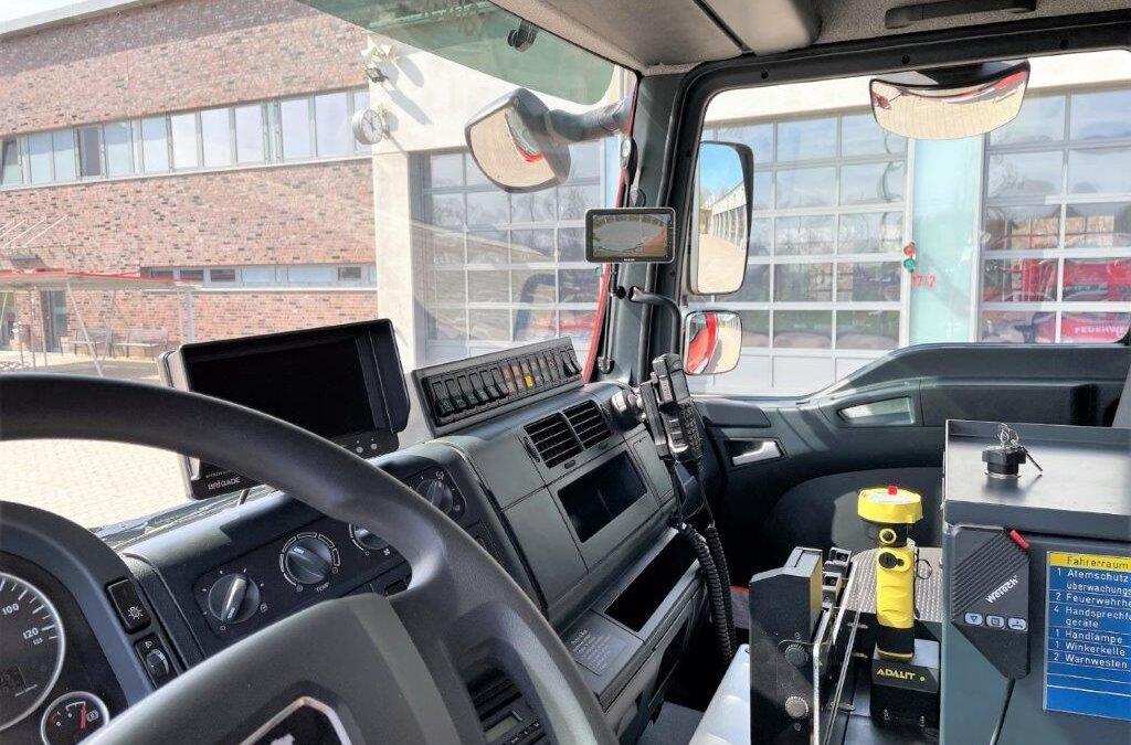 Größte Fahrzeugflotte bald noch sicherer unterwegs: Abbiegeassistenten für Celler Feuerwehr