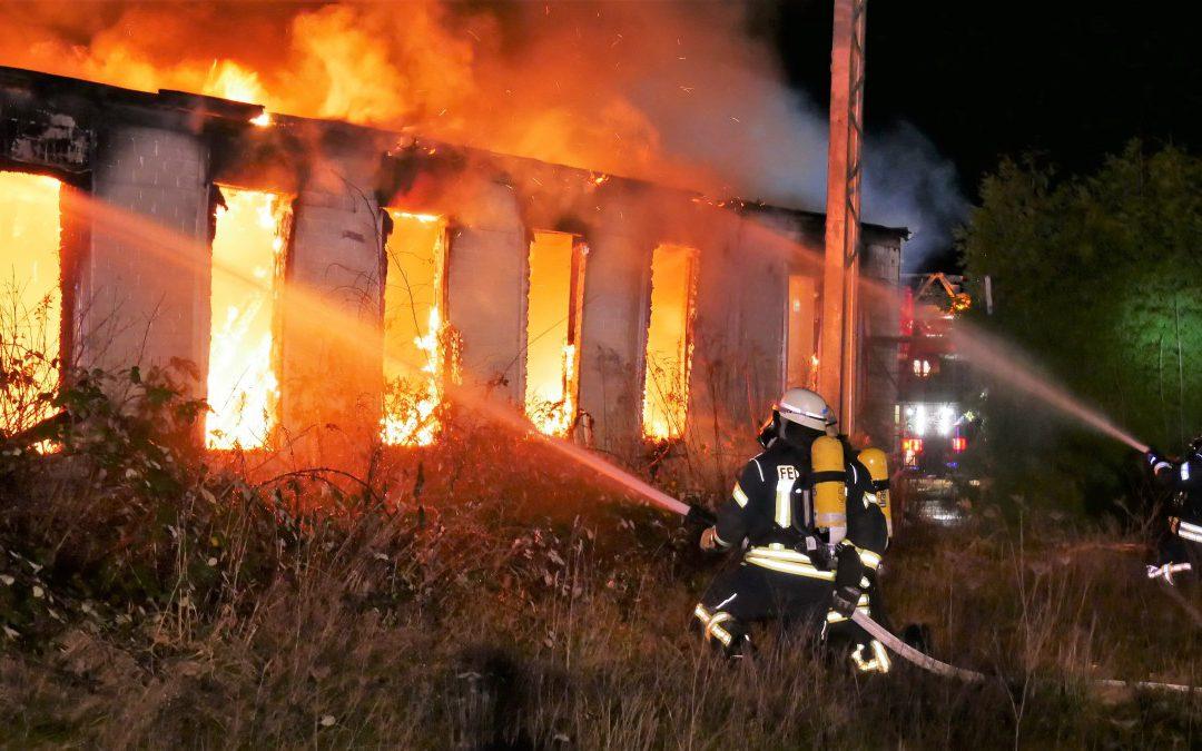 Gebäudebrand *Video*