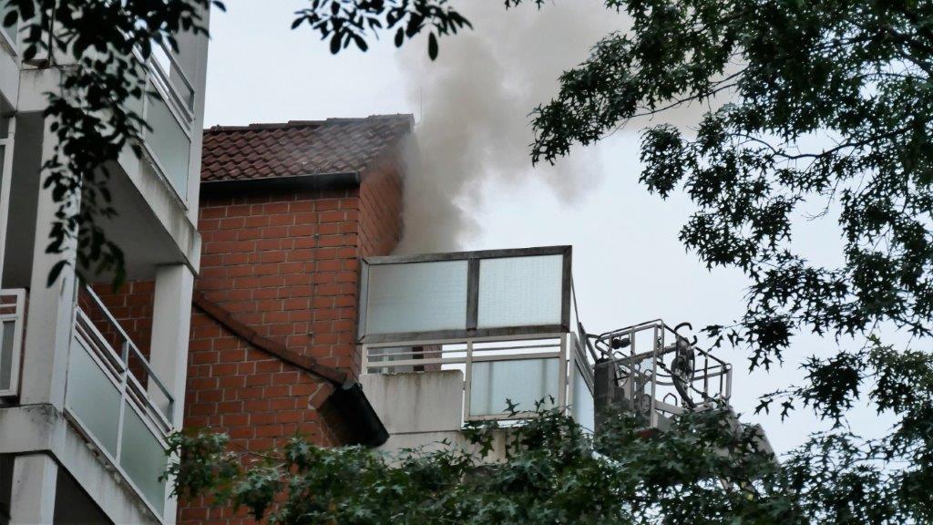 Feuer in Seniorenheim