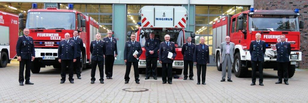 Mitgliederversammlung der Ortsfeuerwehr Celle-Hauptwache – Wiechmann im Amt bestätigt
